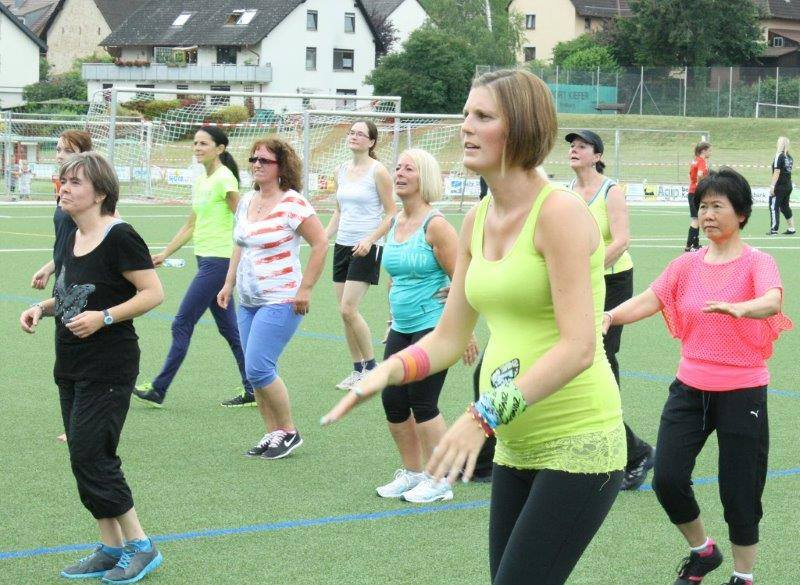 ZUMBA Fitness® Open Air in Wittnau 28.06.14